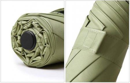 2020 automatic 5 folding sunshade sun umbrella mini pocket umbrella 7