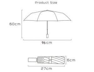 3 foldable compact sun rain umbrella 5
