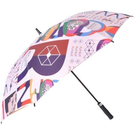 Custom Printed Golf Umbrella 2