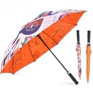 custom printed golf umbrella