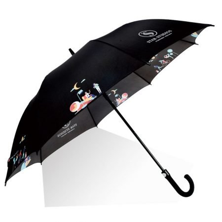 promotional golf umbrella with logo