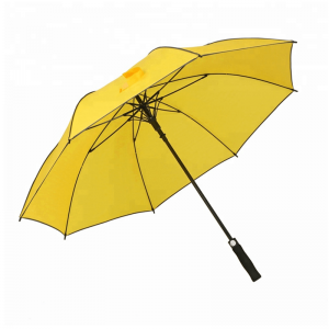 Factory Direct Sale Automatic Open Lightweight Golf Umbrella With All Border