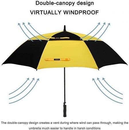 Printing Branded Golf Umbrella 3