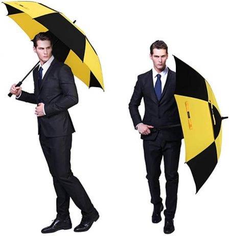 Printing Branded Golf Umbrella 4