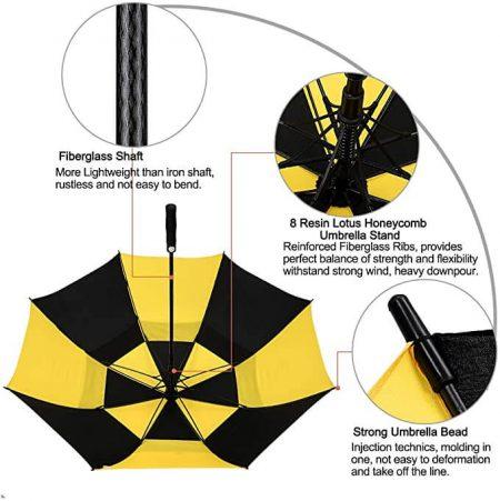 Printing Branded Golf Umbrella 5