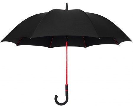 RED frame stick umbrella 1