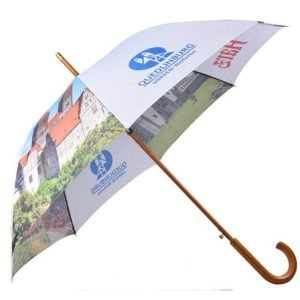 all over printing stick umbrella