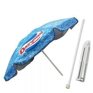commercial outdoor umbrella with all over print 1