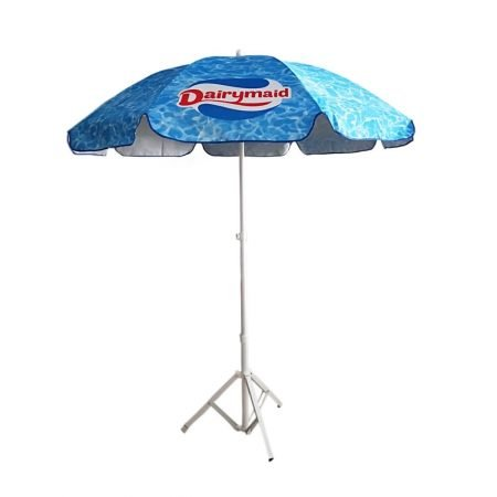 commercial outdoor umbrella with all over print 2