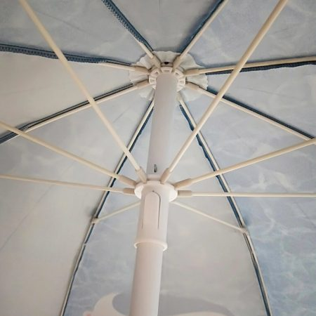 commercial outdoor umbrella with all over print 6