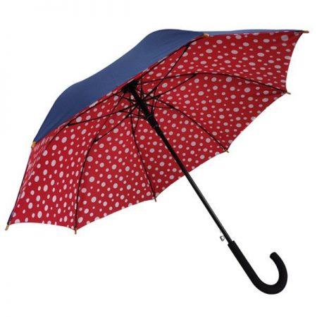 double canopy straight umbrella