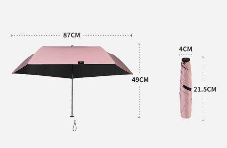 lightest mini umbrella 9