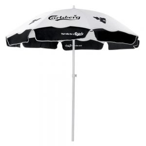 outdoor sunshade promotional ad umbrellas