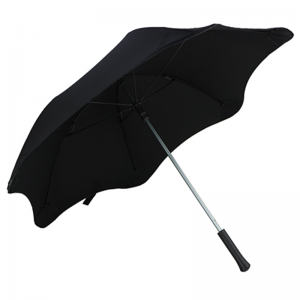 Wind Resistant Promotional No Tip Straight Umbrella
