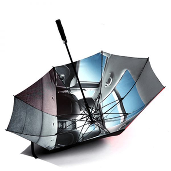 Factory Wholesale Custom Printing Automatic Open Golf Umbrella