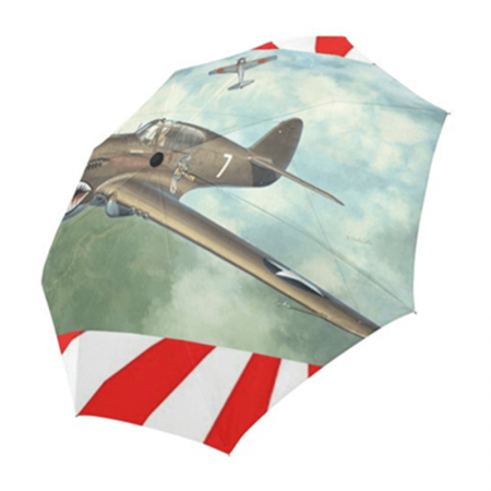 Auto Open And Close Fashion Full Print Folding Umbrella