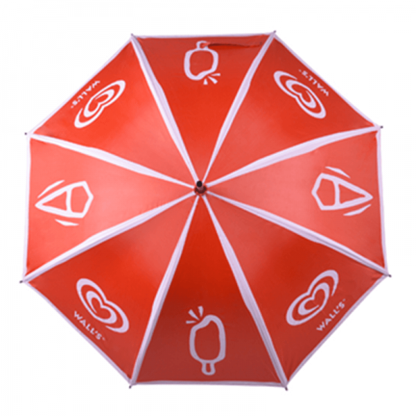 Promotional Customized Straight Umbrella With Logo