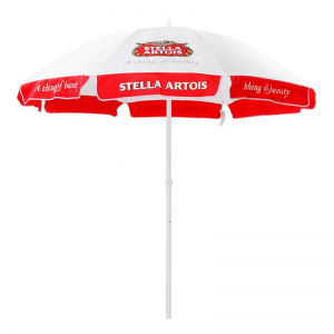 outdoor sun umbrella with custom printing