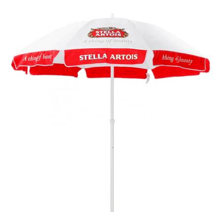 outdoor sun umbrella with custom printing