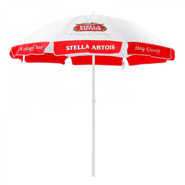 Advertising Beach Umbrella With Logo Printing For Promotion