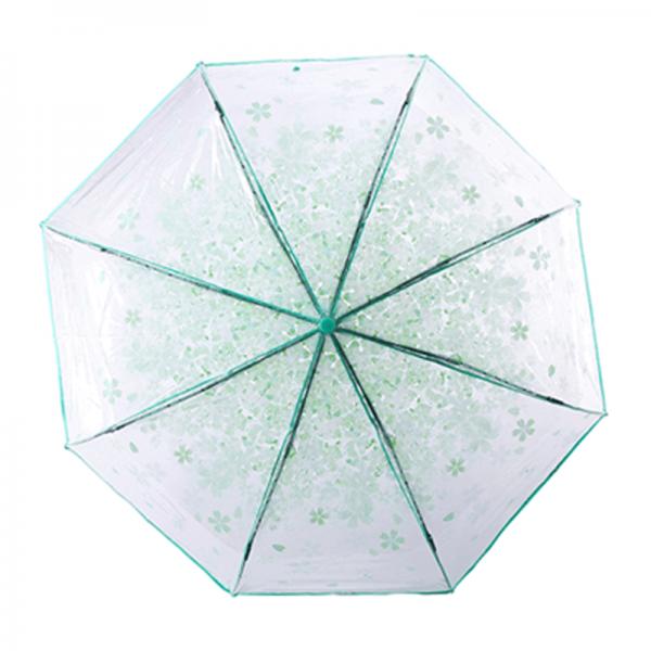 Transparent Clear Folding Umbrella