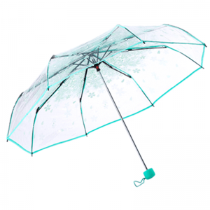 Transparent Clear Folding Umbrella