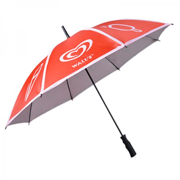Promotional Customized Straight Umbrella With Logo
