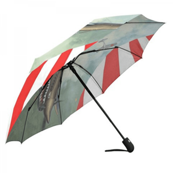Auto Open And Close Fashion Full Print Folding Umbrella