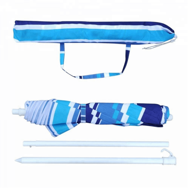 3 Foldable Sun Parasol Beach Umbrella