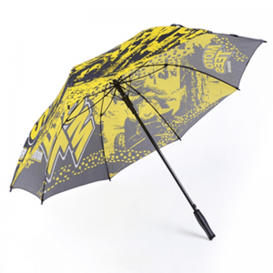 Custom Full Print Semi-automatic Straight Umbrella