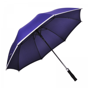 Safety Reflective Edge Golf Umbrella