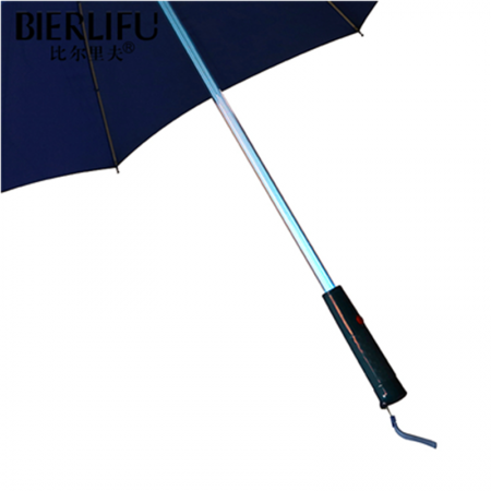 Fashionable Stick Ultra Handle Promotional LED Light Umbrella