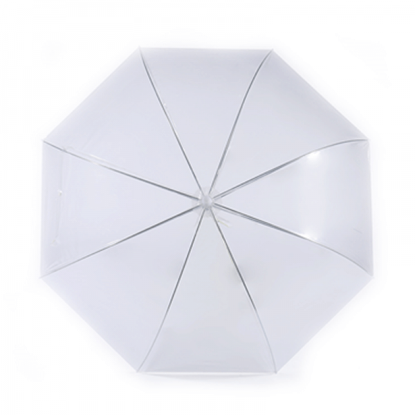Cheapest Promotional Custom POE Clear Walking Umbrella
