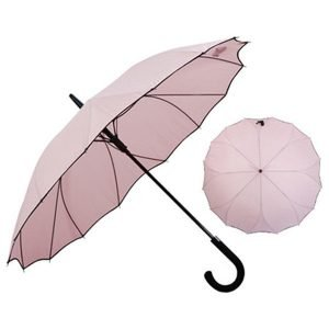 Personalised Fancy Straight Auto Open Ladies Umbrella 4