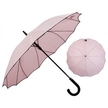 Personalised Fancy Straight Auto Open Ladies Umbrella 4