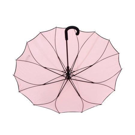 Personalised One Piece Straight Auto Open Ladies Umbrella 1