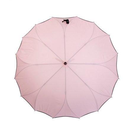 Personalised One Piece Straight Auto Open Ladies Umbrella 5