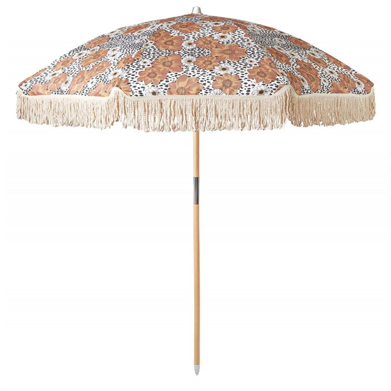 tassel beach umbrella