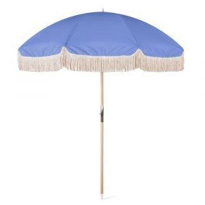beach outdoor umbrella with tassels (1)