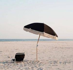 beach chair umbrella set