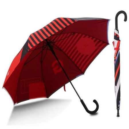 Custom Double Canopy Windproof Umbrella 27 inch