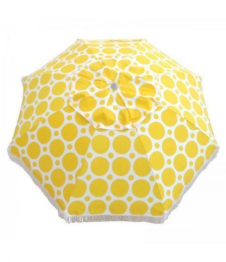 extra large size fringed umbrella