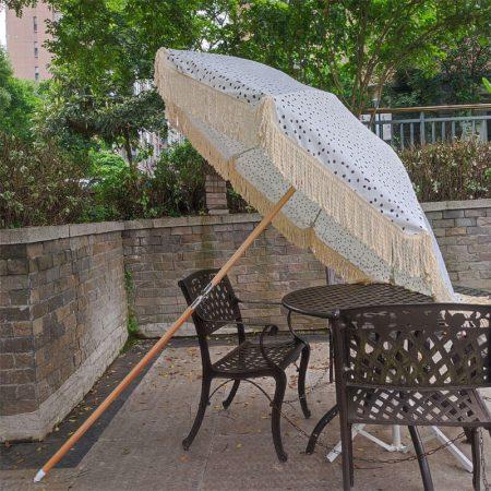 fringed beach umbrella Australia Newzeland