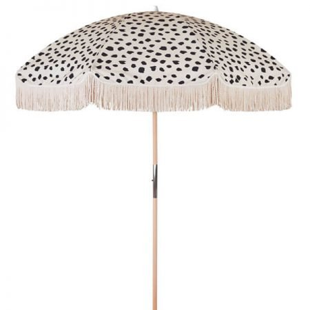 high quality outdoor beach umbrella with fringes tassels