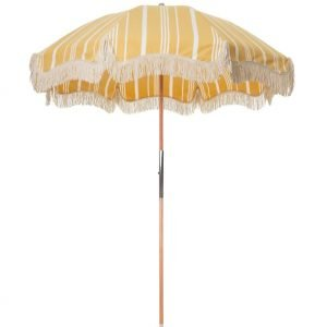 vintage beach umbrella with fringes (1)