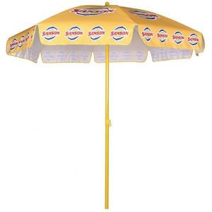 Promotional Beach Umbrella with custom printing