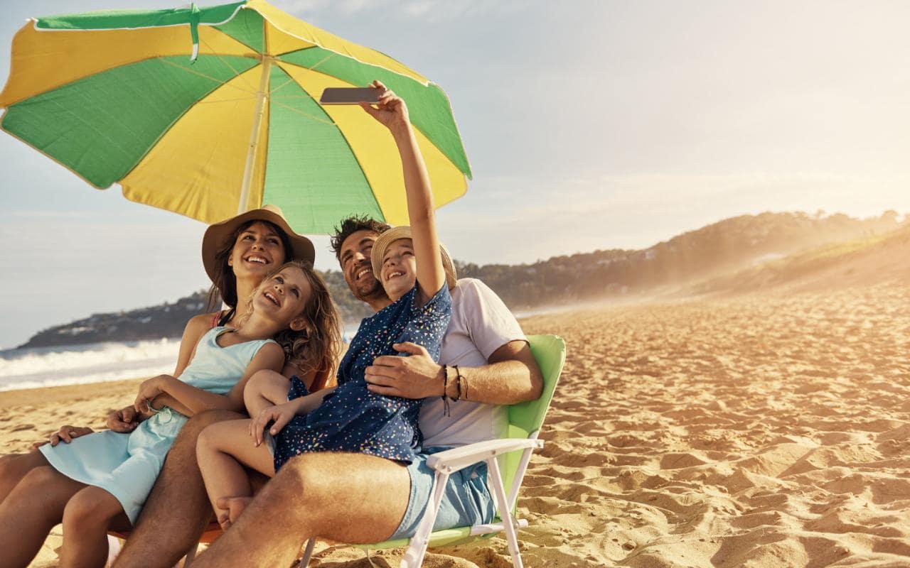 Holiday Beach Umbrellas