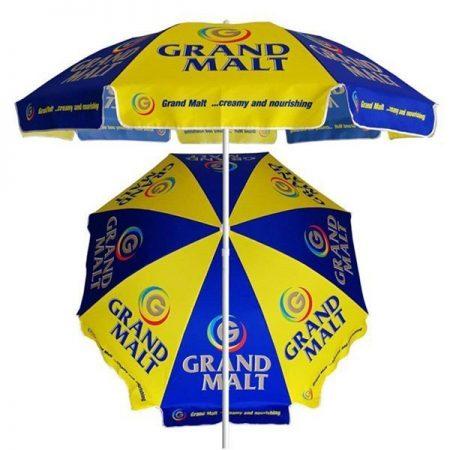 cheap beach umbrella with custom print