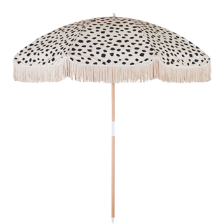luxury fringed beach umbrella manufacturer