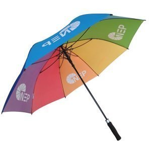 colorful LGBD golf umbrella